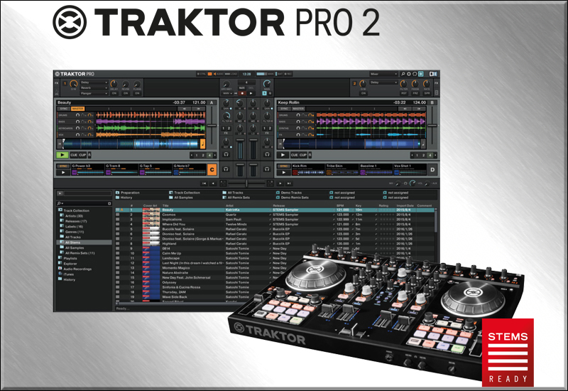 Native Instruments – TRAKTOR Update – Stems für Alle!