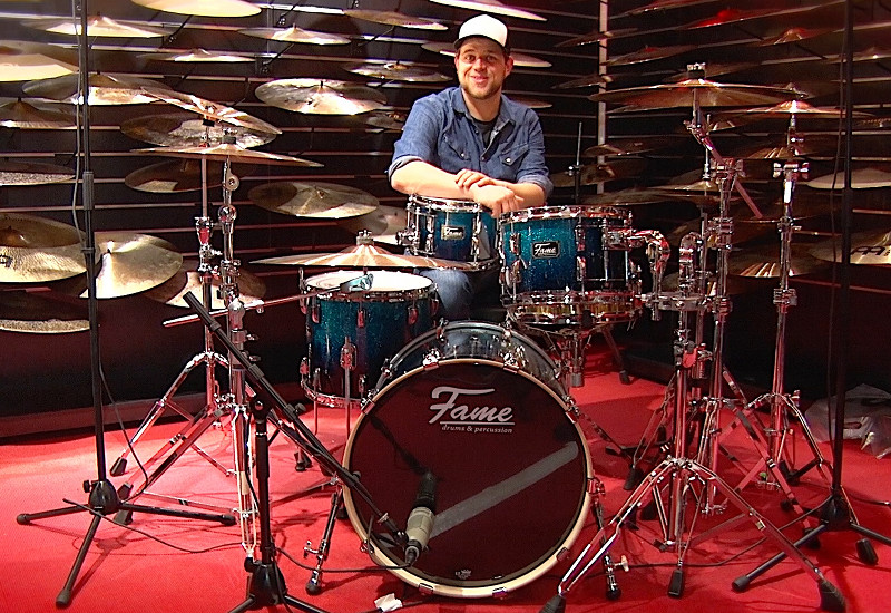 FAME Fire Acoustic Drums im Video-Test