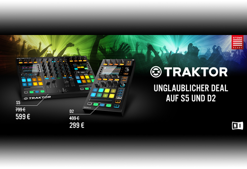 Native Instruments – STEMS SPECIAL im April und Mai!