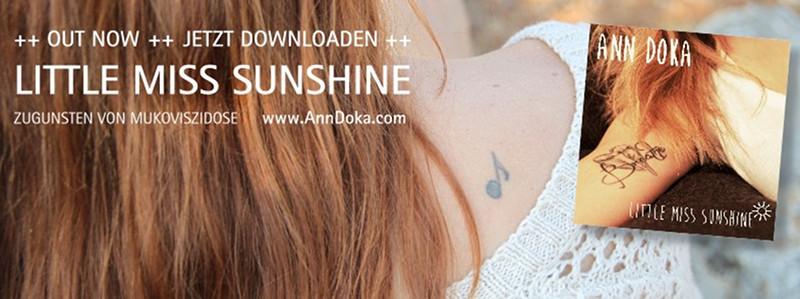 """ANN DOKA veröffentlicht Spendensong """"Little Miss Sunshine"""""""