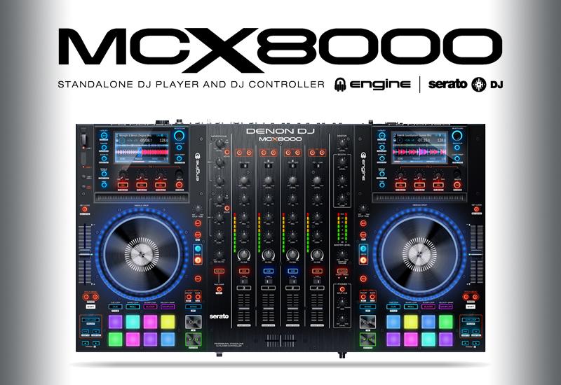 DENON DJ – MCX8000 DJ Controller – Wieder verfügbar!