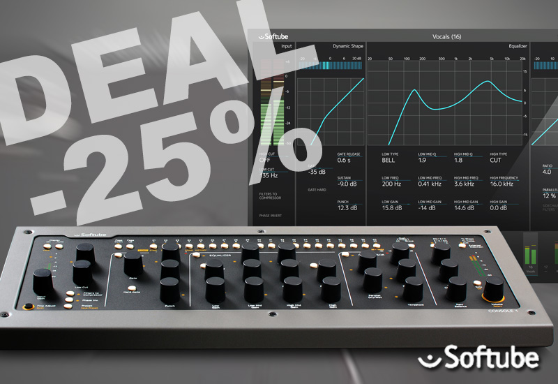 DEAL: Softube Console 1 -25%