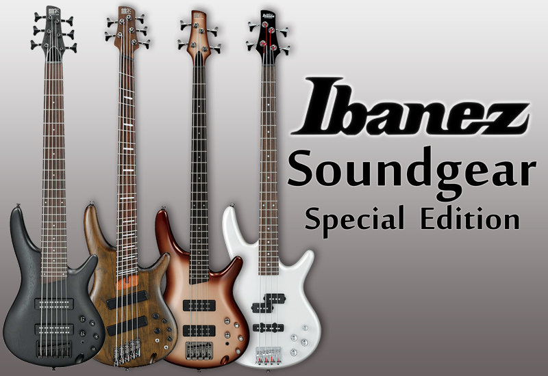 IBANEZ Soundgear Special Edition – jetzt im MUSIC STORE!