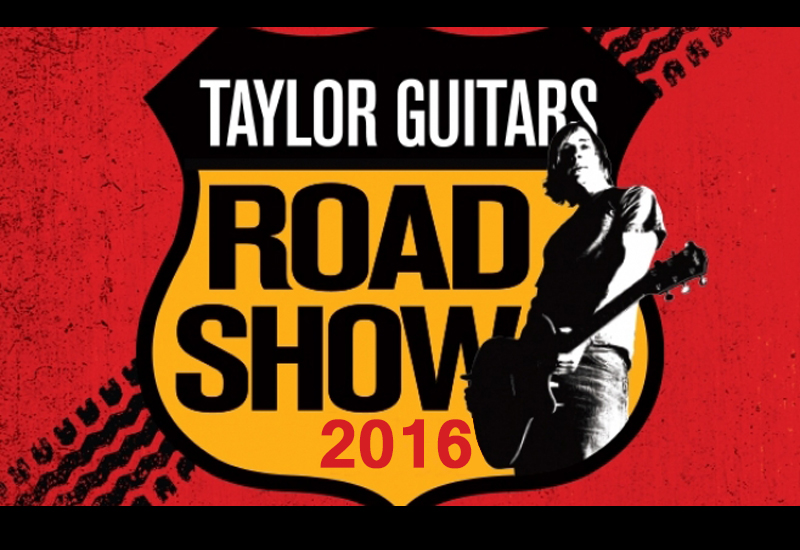 Taylor Road Show 2016 im MUSIC STORE!