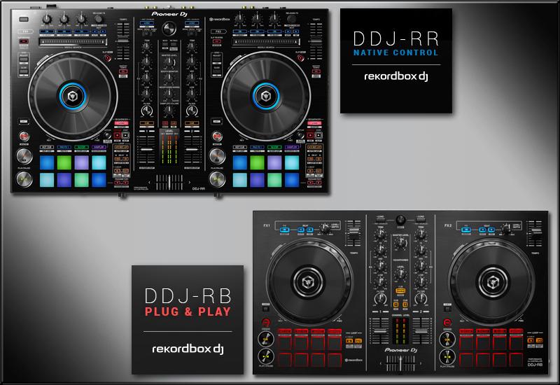 PIONEER DJ – DDJ-RB und DDJ-RR rekordbox DJ-Controller – Jetzt erhältlich!
