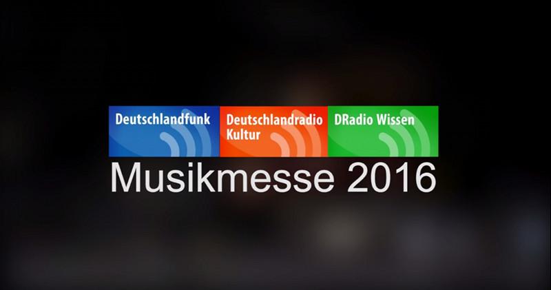 Deutschlandfunk – Rundgang über die Musikmesse