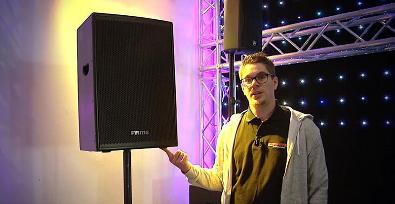 Druckluftfeder-Distanzstangen für PA-Lautsprecher