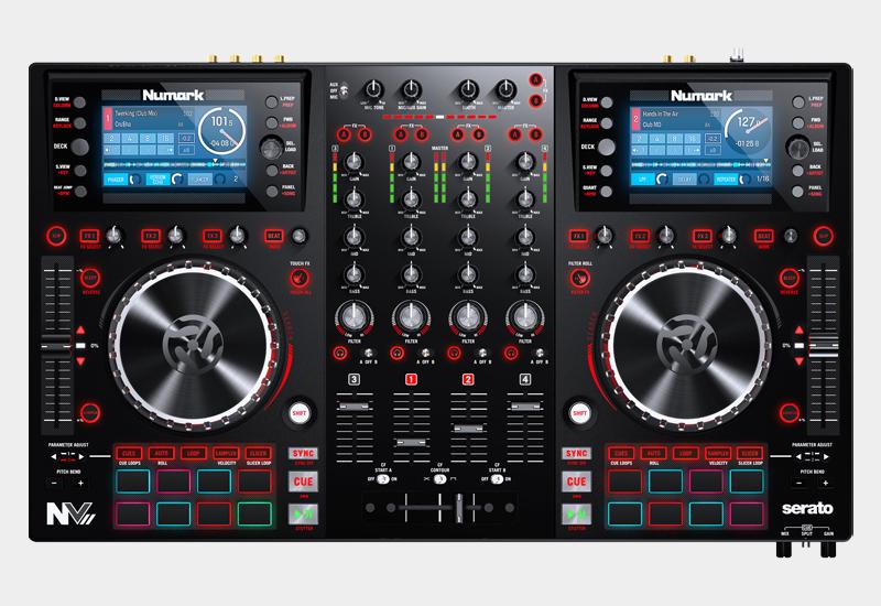NUMARK – NVII DJ Controller – Jetzt lieferbar!