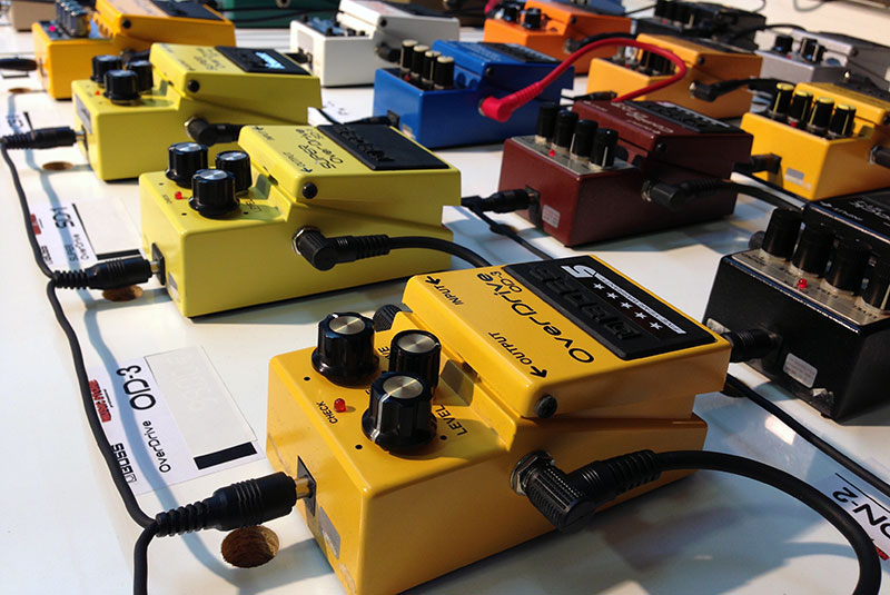 Boss Stompboxes