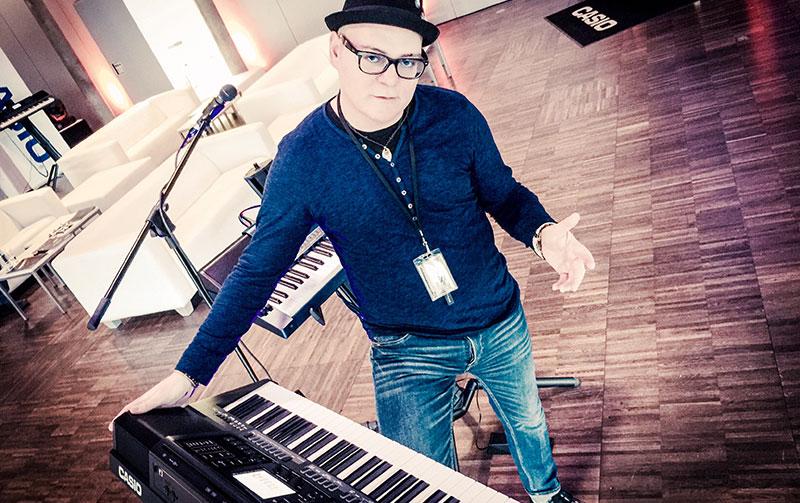 Casio MZ-X500 mit Ralph Maten // MUSIC STORE Hausmesse