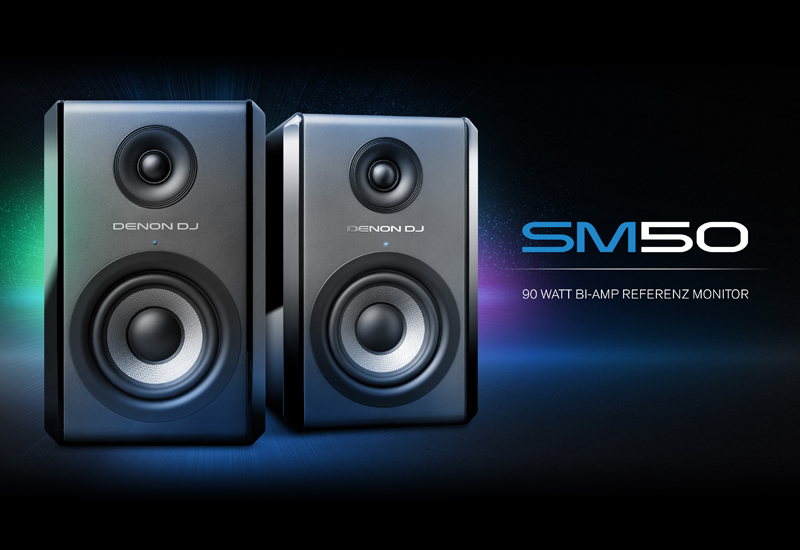 DENON DJ präsentiert den SM50 Referenz Monitor