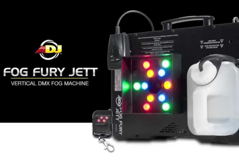 Jetzt im MUSIC STORE Köln – Die ADJ Fog Fury Nebelmaschine mit LED Effekt!