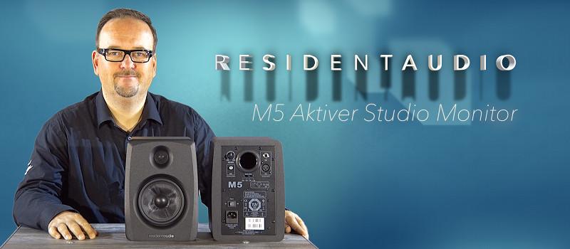 Residentaudio M5 Studio Monitor Lautsprecher