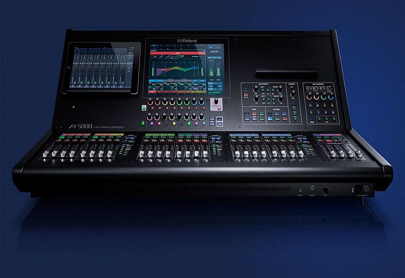 Das neue Roland M-5000 Digitalpult ab sofort in unserer Demo