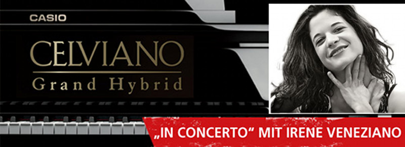 Irene Veneziano live am CASIO Celviano Grand Hybrid