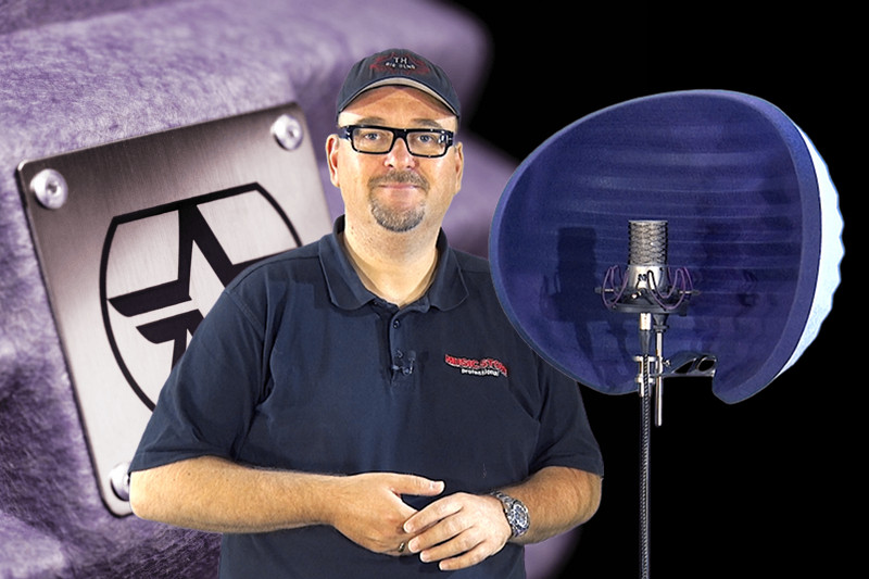 Video-Special: Aston Microphones HALO Reflexion Screen