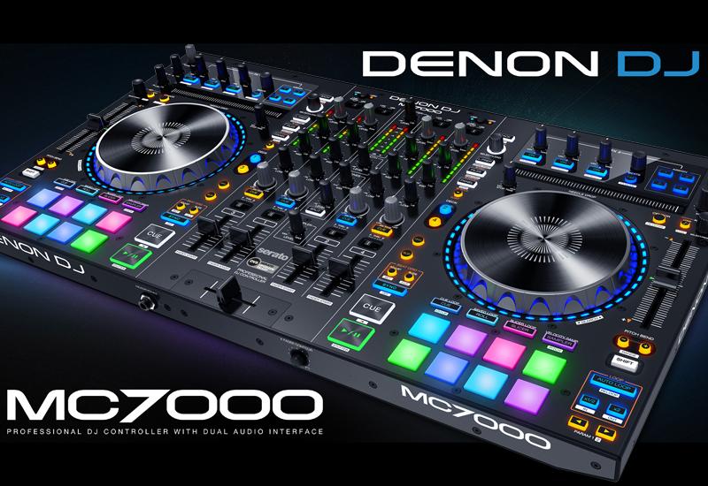 DENON DJ präsentiert den MC7000 Premium 4-Kanal DJ-Controller!