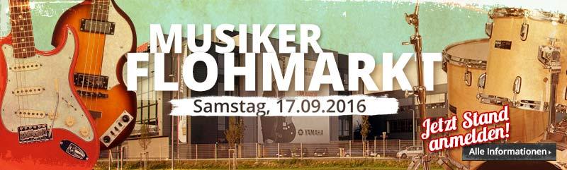 MUSIC STORE professional: Musiker-Flohmarkt 2016