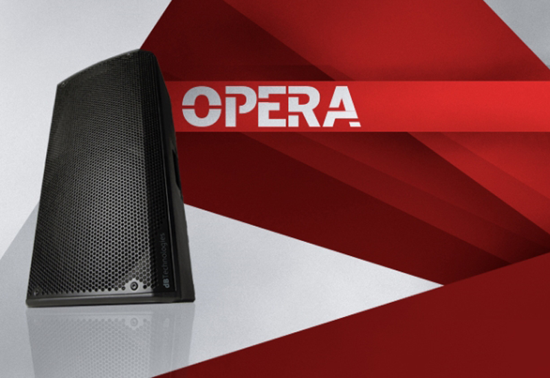 dB Technologies OPERA 2016 – Jetzt im MUSIC STORE Professional Köln!
