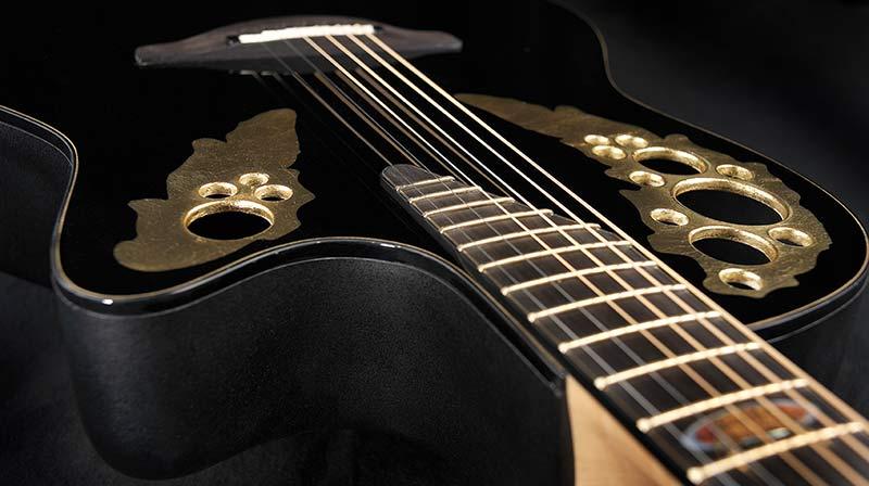 Ovation Gitarre Glam