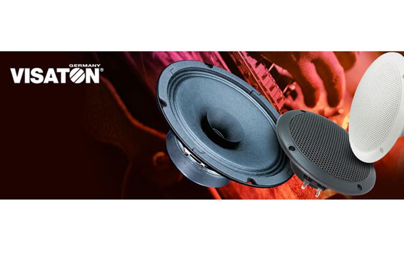 NEU im MUSIC STORE Online Shop – Hochwertige Lautsprecher-Technik von VISATON!