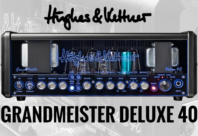 HUGHES & KETTNER Grandmeister Deluxe 40 – Jetzt im MUSIC STORE Online-Shop!