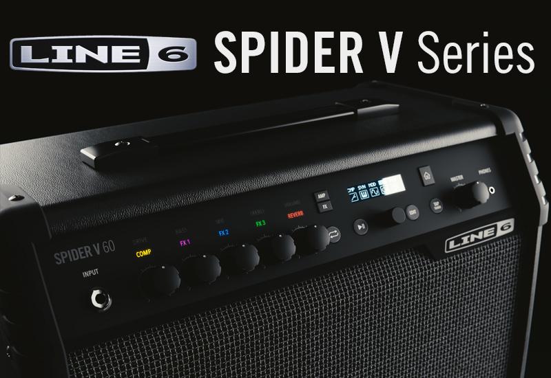 LINE 6 präsentiert die neue Spider V Verstärker-Serie