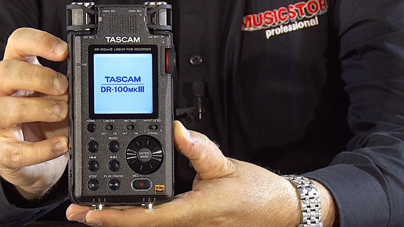 Was ist neu am TASCAM DR-100 MKIII ???