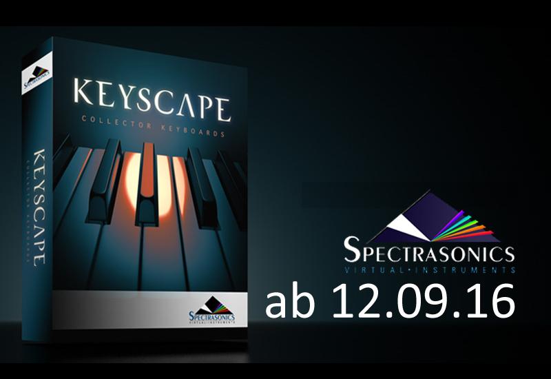 NEU: Spectrasonics KEYSCAPE