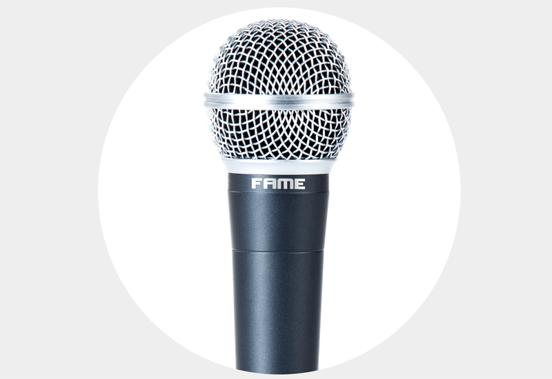 Fame MS58 MK2 – Der Mikrofon-Klassiker zum kleinen Preis!