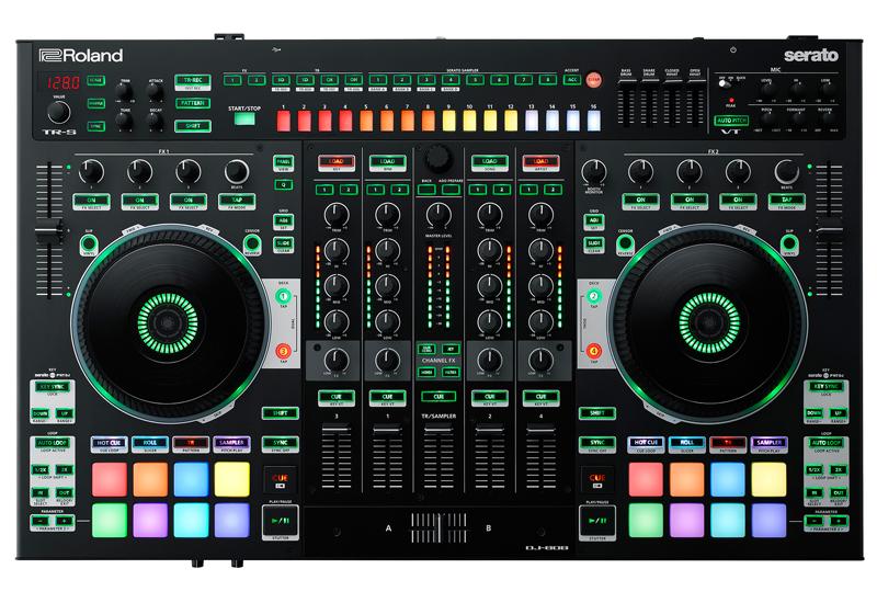 ROLAND – DJ-808 DJ-Controller – Jetzt erhältlich!