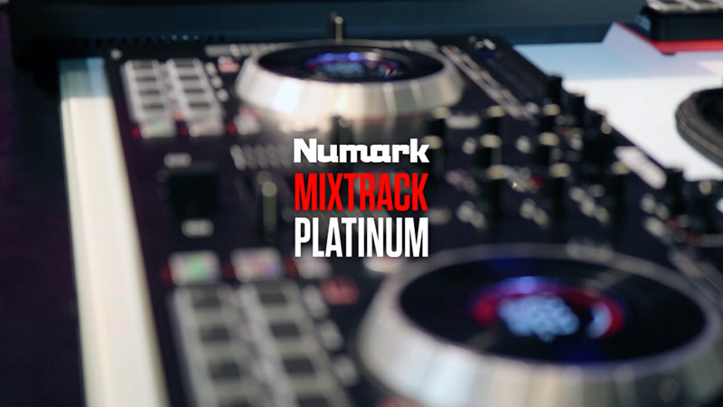Numark Mixtrack Platinum DJ-Controller Video-Test
