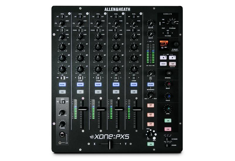 Allen&Heath stellt den Xone:PX5 DJ Performance Mixer vor!