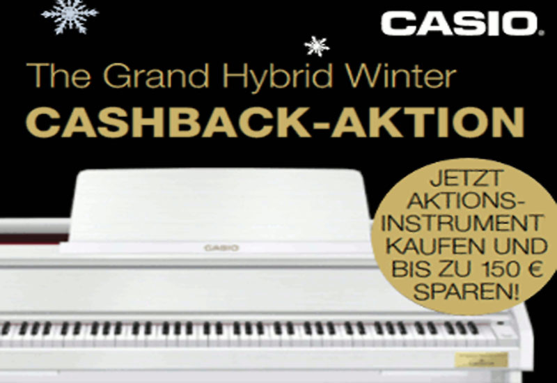 Casio Grand Hybrid Winter – Cashback Aktion