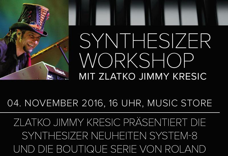 Roland Synthesizer Workshop mit Zlatko Jimmy Kresic