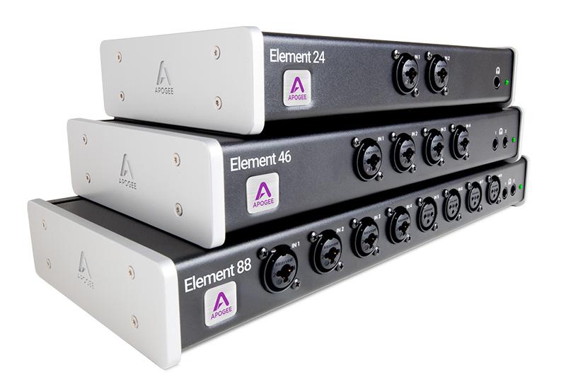 Apogee veröffentlicht die neue Element-Serie