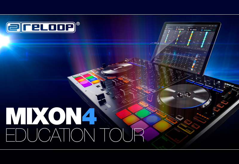 Reloop MIXON4 Education Tour am 17.11.16 im MUSIC STORE!