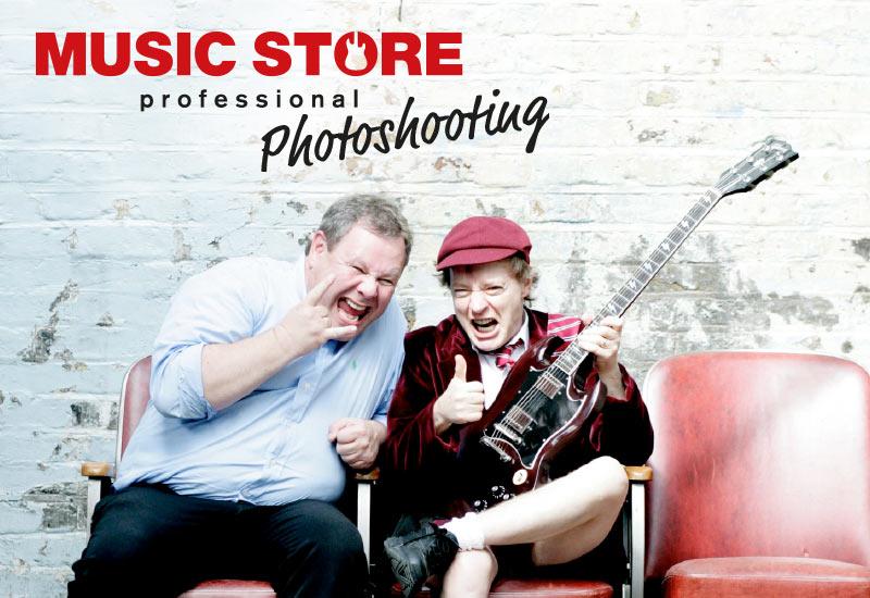 MUSIC STORE Photoshooting mit Guido Karp