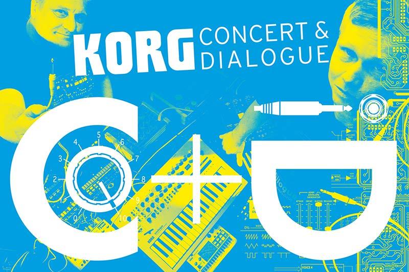 KORG CONCERT & DIALOGUE im MUSIC STORE