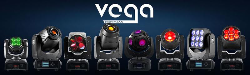 Die neuen lightmaXX Moving Heads der VEGA-Serie