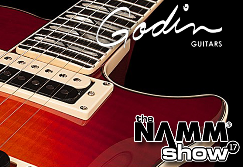 NAMM SHOW 2017 – Das Godin Electric & Semi-Hollow Line-Up
