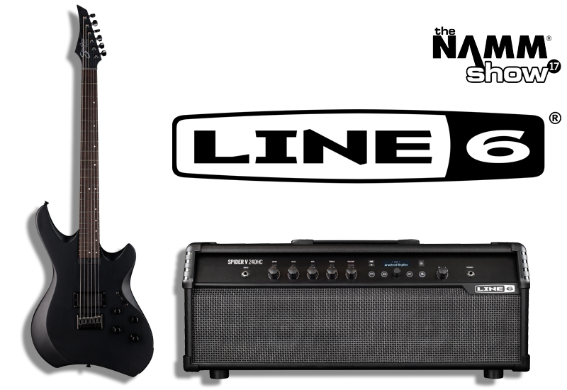 NAMM SHOW 2017 – Line 6 mit Variax Signature Gitarre und neuem Topteil