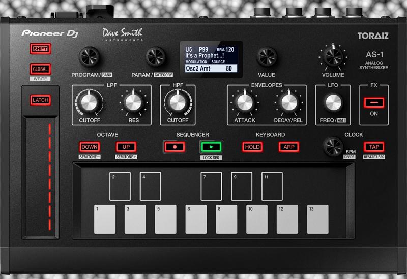 NAMM SHOW 2017 – Pioneer DJ TORAIZ AS-1