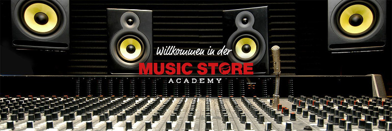 Neu in 2017: Die MUSIC STORE ACADEMY!