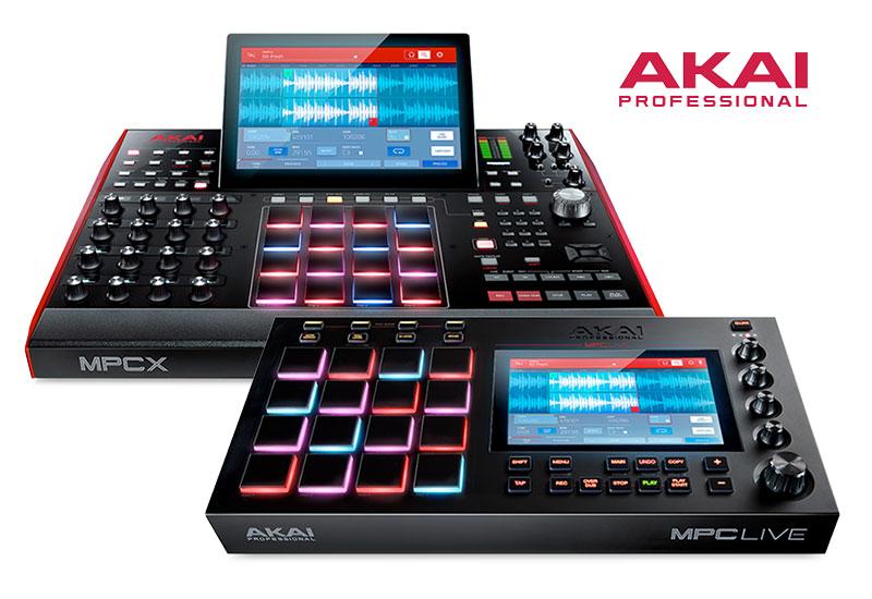 Akai Pro stellt neue MPC-Modelle vor