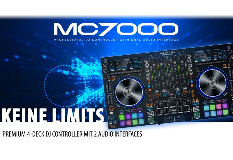 DENON DJ – MC7000 – Jetzt erhältlich!