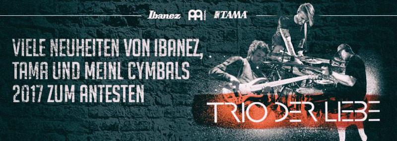 Ibanez Meinl Tama News Tour 2017 Köln
