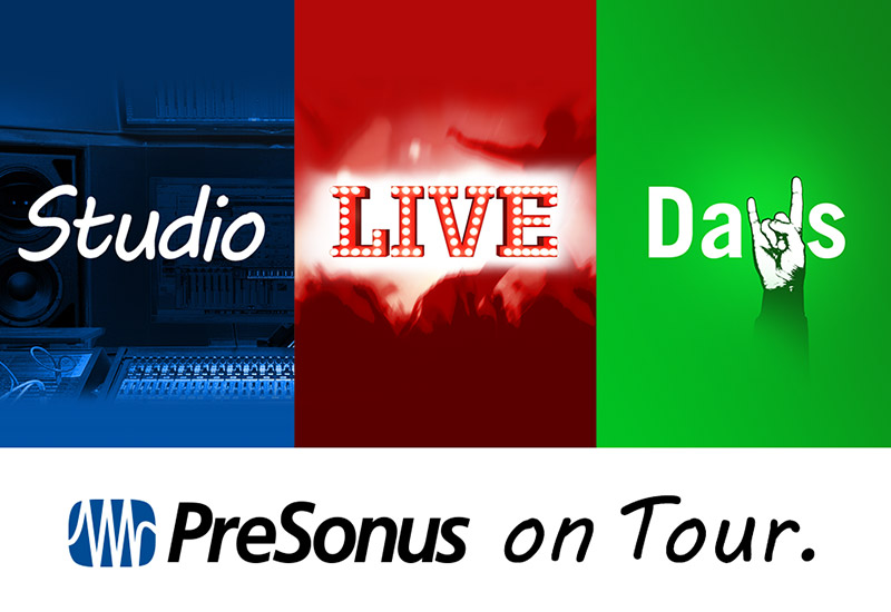 PreSonus StudioLive Tour am 21.02.2017