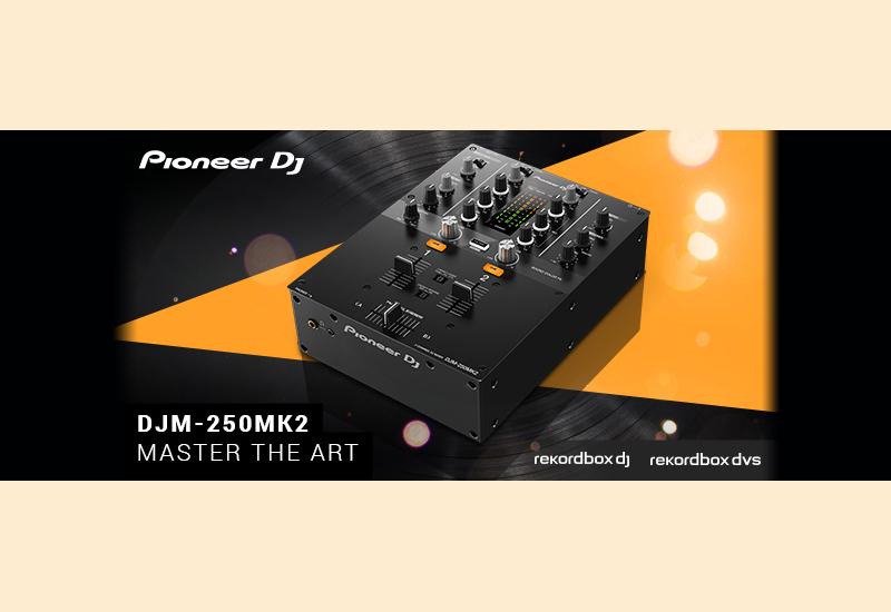PIONEER DJ präsentiert den DJM-250MK2 DJ-Mixer!