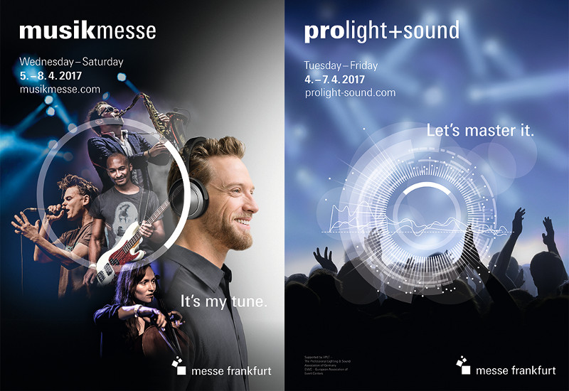 Musikmesse und Prolight+Sound 2017